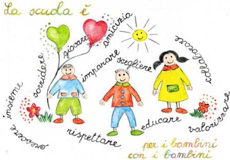 bambini e scritte