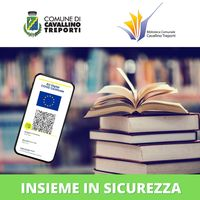 Insieme in sicurezza - accesso alla biblioteca con Green pass e documento di identità