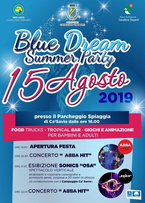 Festa di Ferragosto Blue Dream Summer Party a Ca'Savio