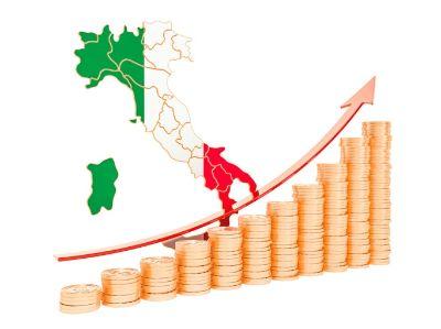 immagine italia e denaro