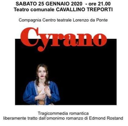 particolare locandina Cyrano