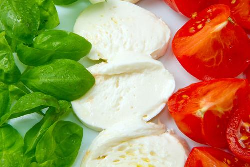 menù in tricolore