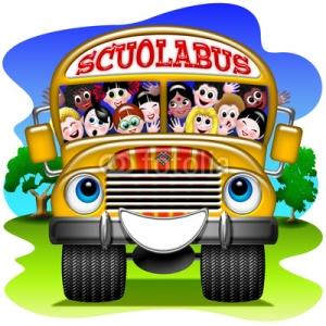 scuola bus bambini