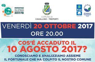 Locandina incontro 20 ottobre