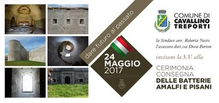 Cerimonia di Consegna Batterie Amalfi e Pisani