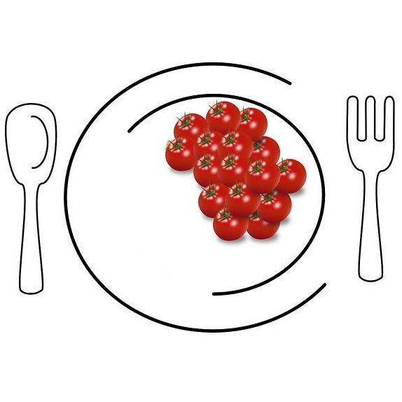 mensa con vassoi