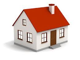 casa con tetto rosso