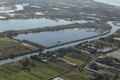 foto aerea del territorio