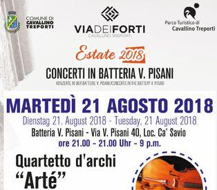 Concerto martedì 21 agosto