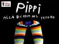 locandina spettacolo Pippi alla ricerca del tesoro