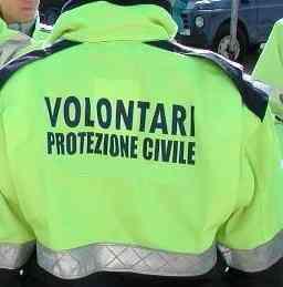 volontario di protezione civile