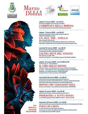 Marzo donna 2020 locandina