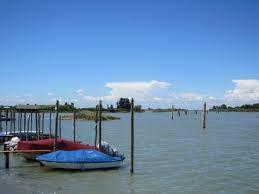 barche in laguna