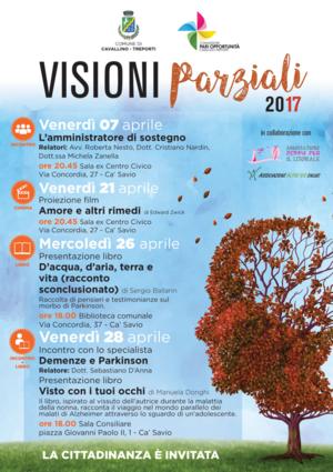 locandina visioni parziali 2017